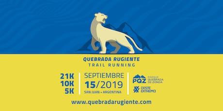 Quebrada Rugiente Trail Running - III Edición entradas
