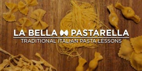 Italian Handmade Pasta Class tickets