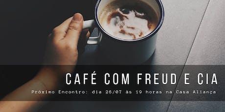 """Cópia de Café com Freud e Cia - """"A perspectiva sobre as relações românticas"""", com Teresa Frati ingressos"""