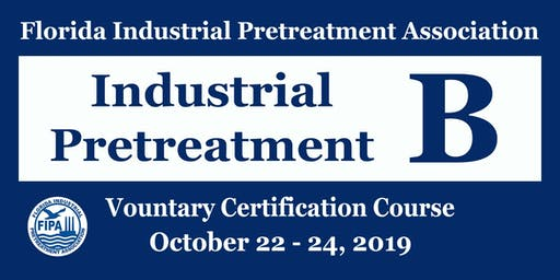"Industrial Pretreatment ""B"" Course"
