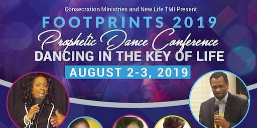 Footprints 2019 Prophetic Dance Conference
