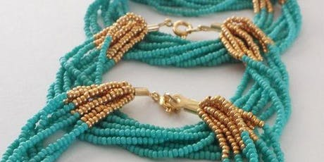Multi String Beaded Bracelet Workshop tickets