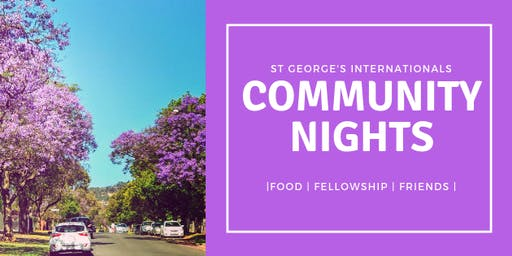 St George's Internationals Community Night