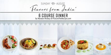 'Flavors from India' Pop-up Dinner tickets