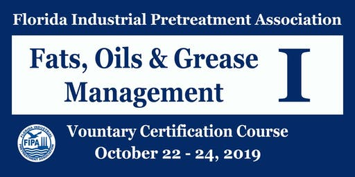 Fats, Oils & Grease Program Management I (Inspector Training)