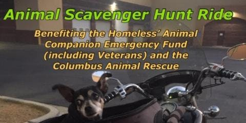Columbus Animal Scavenger Hunt Ride
