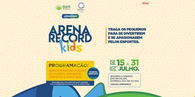 Buriti Shopping apresenta Arena Record Kids
