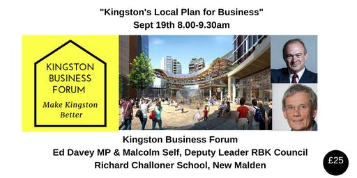 Kingston's 'Local Business Plan'
