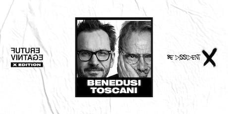 OLIVIERO TOSCANI & SETTIMIO BENEDUSI // Future Vintage Festival 2019 biglietti