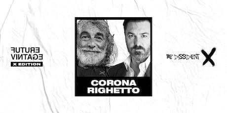 MAURO CORONA & MATTEO RIGHETTO // Future Vintage Festival 2019 biglietti