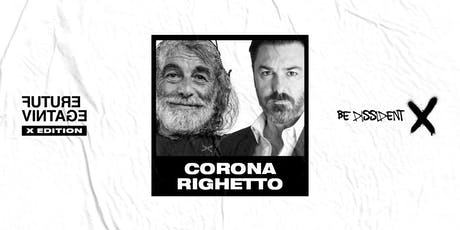 MAURO CORONA & MATTEO RIGHETTO // Future Vintage Festival 2019 entradas