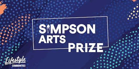Simpson Arts Prize tickets