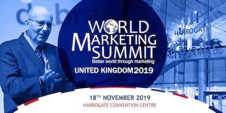 World Marketing Summit UK 2019  with Professor Philip Kotler tickets