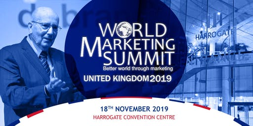 World Marketing Summit UK 2019  with Professor Philip Kotler