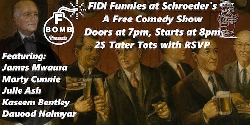 F Bomb Presents: FiDi Funnies, a Free Comedy Show