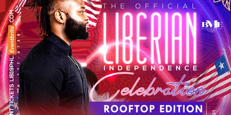 "The Official Liberian Independence Celebration "" Rooftop Edition  tickets"