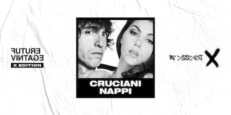 VALENTINA NAPPI & GIUSEPPE CRUCIANI // Future Vintage Festival 2019 biglietti