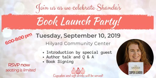 Shanda's Book Launch Party