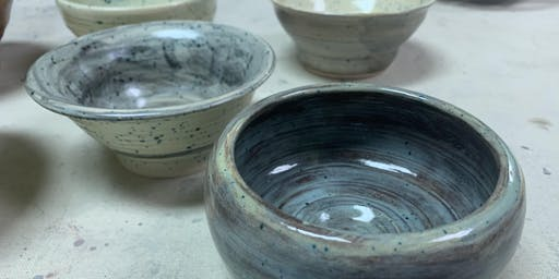 Fall semester Pottery class 4th-8th grade