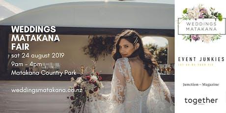 Weddings Matakana Fair tickets