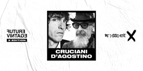 ROBERTO D'AGOSTINO & GIUSEPPE CRUCIANI // Future Vintage Festival 2019 tickets