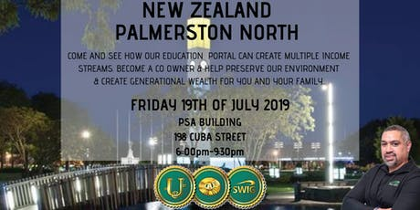 SWIG PALMERSTON NORTH ~ New Economic Evolution of the World tickets
