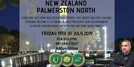 SWIG PALMERSTON NORTH ~ New Economic Evolution of the World