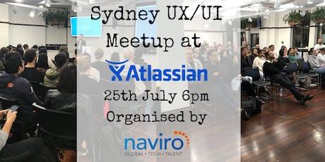 Sydney UX/UI Meetup: Atlassian  tickets