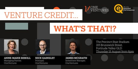 Venture Credit... What is that? tickets