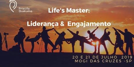 Life's Master: Treinamento de Liderança e Engajamento com Priscila Guskuma ingressos