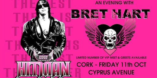 BRET HART - Cork - Inside The Ropes Live!