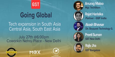 Going Global New Delhi: Tech Expansion in Asia tickets