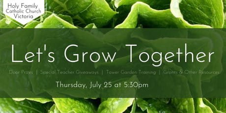 Let's Grow Together tickets