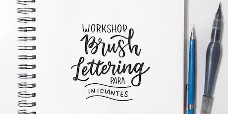Workshop de Brush Lettering para Iniciantes ingressos