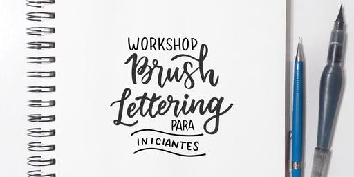 Workshop de Brush Lettering para Iniciantes