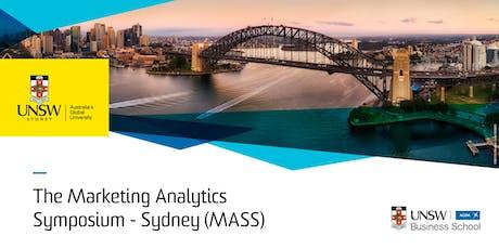 Marketing Analytics Symposium - Sydney (MASS) tickets