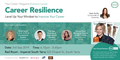 CAREER RESILIENCE - Level Up Your Mindset to Improve Your Career tickets