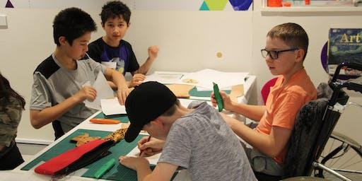 Printmaking workshop for Teens