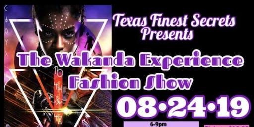 "Texas Finest Secret ""The Wakanda Experience Fashion Show"