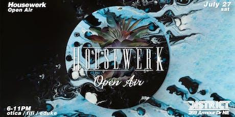 Housewerk Open Air XXII tickets