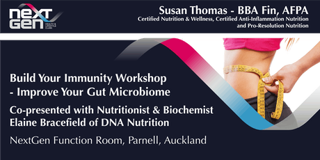 Build Your Immunity Workshop – Improve Your Gut Health  tickets