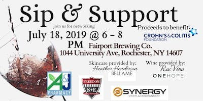 Sip & Support to benefit WNY Crohn's & Colitis Foundation