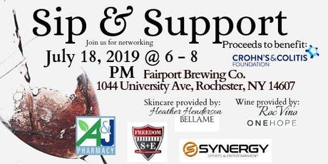 Sip & Support to benefit WNY Crohn's & Colitis Foundation tickets