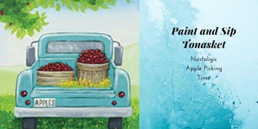 Paint and Sip Tea Tonasket: Nostalgic Apple Picking
