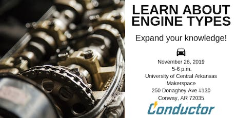 Learn About Engine Types tickets