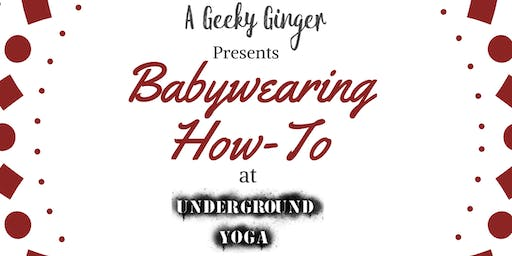 Babywearing How-To Class