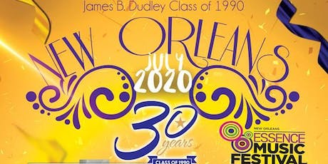 Copy of Class of 1990 30th Reunion - Essence Festival  tickets