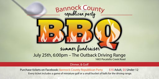 Bannock County Republican Party Summer BBQ