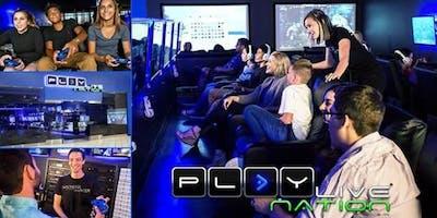 Gaming Birthday Party at Playlive Nation Lakewood