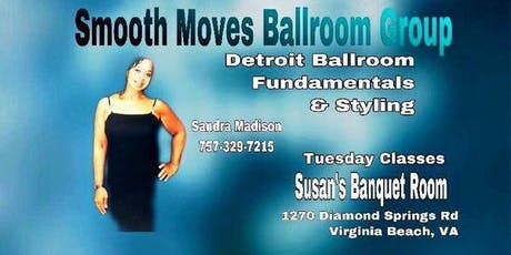 Smooth Moves Detroit Ballroom Dance Class (5-Week Series) tickets